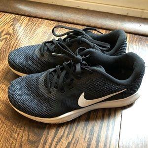 Nike Flex TR8 Black Knit Sneakers